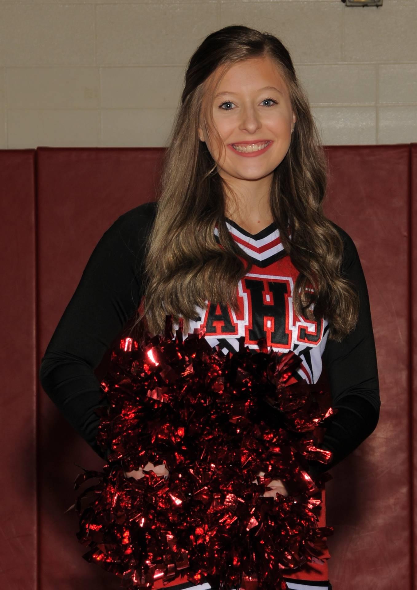 Braylee Harris - Cheerleading