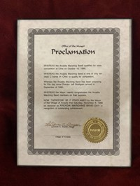 1999 Office of the Mayor Proclamation