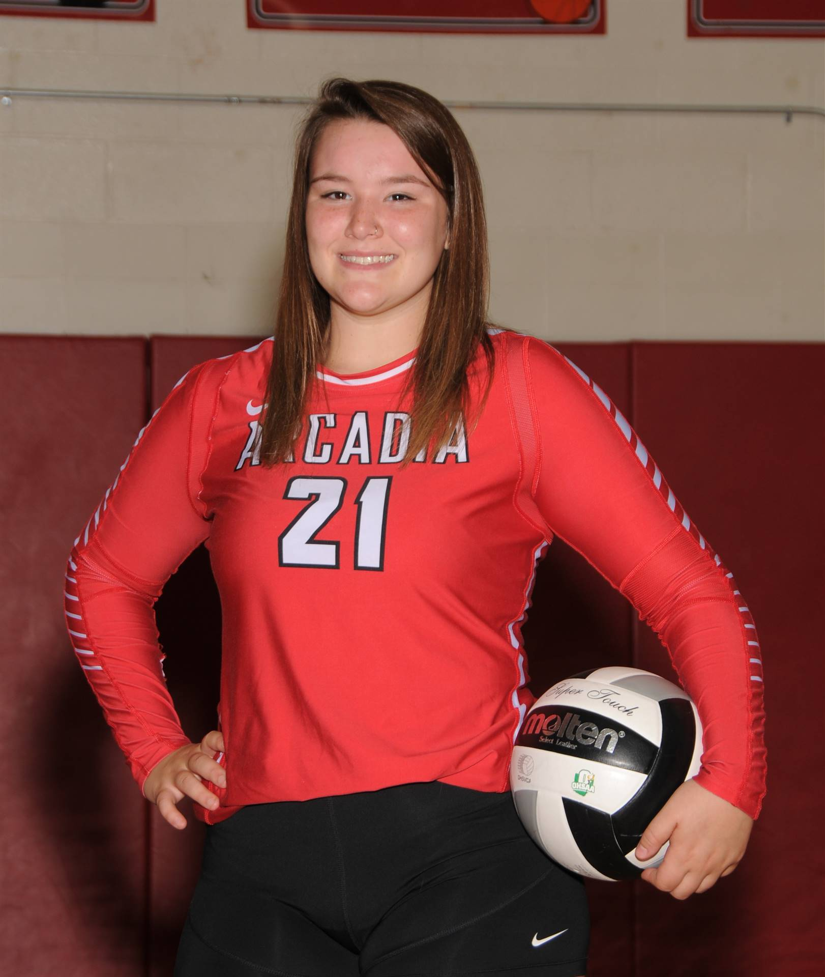 Hannah Mathais - Volleyball