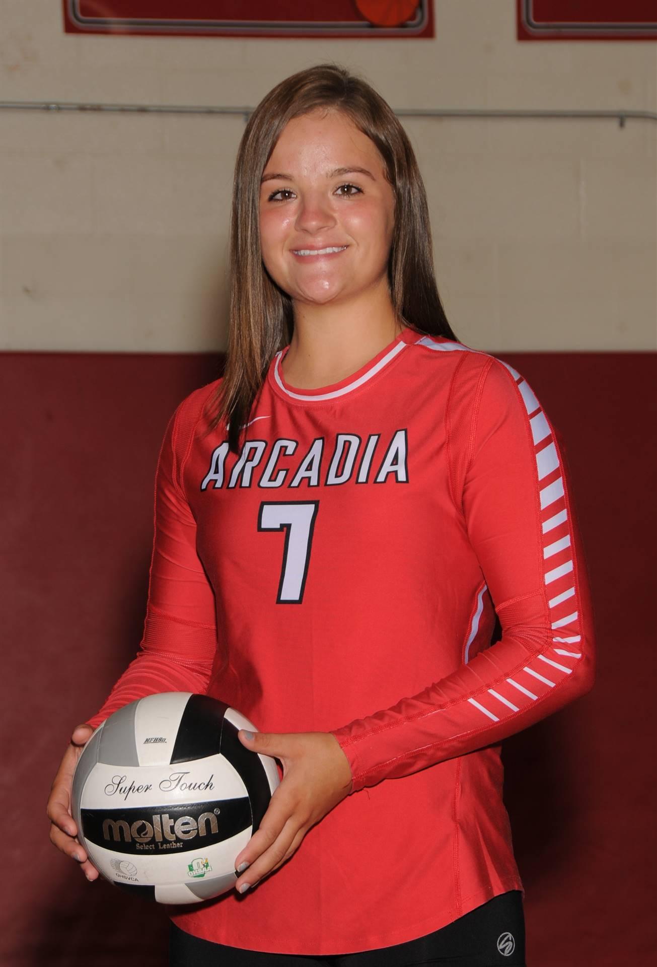 Lyndee Ward - Volleyball