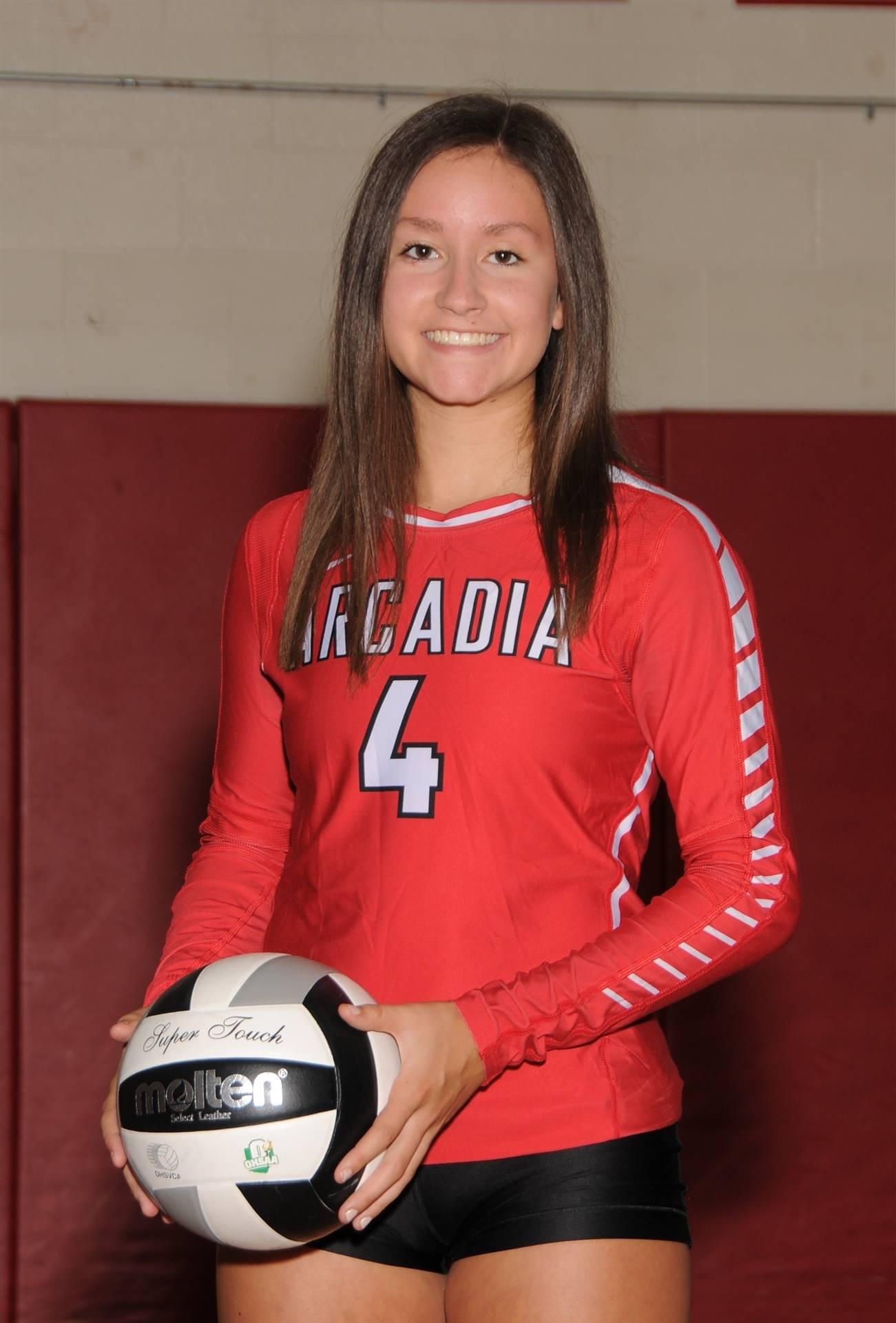 Samantha Burnett - Volleyball