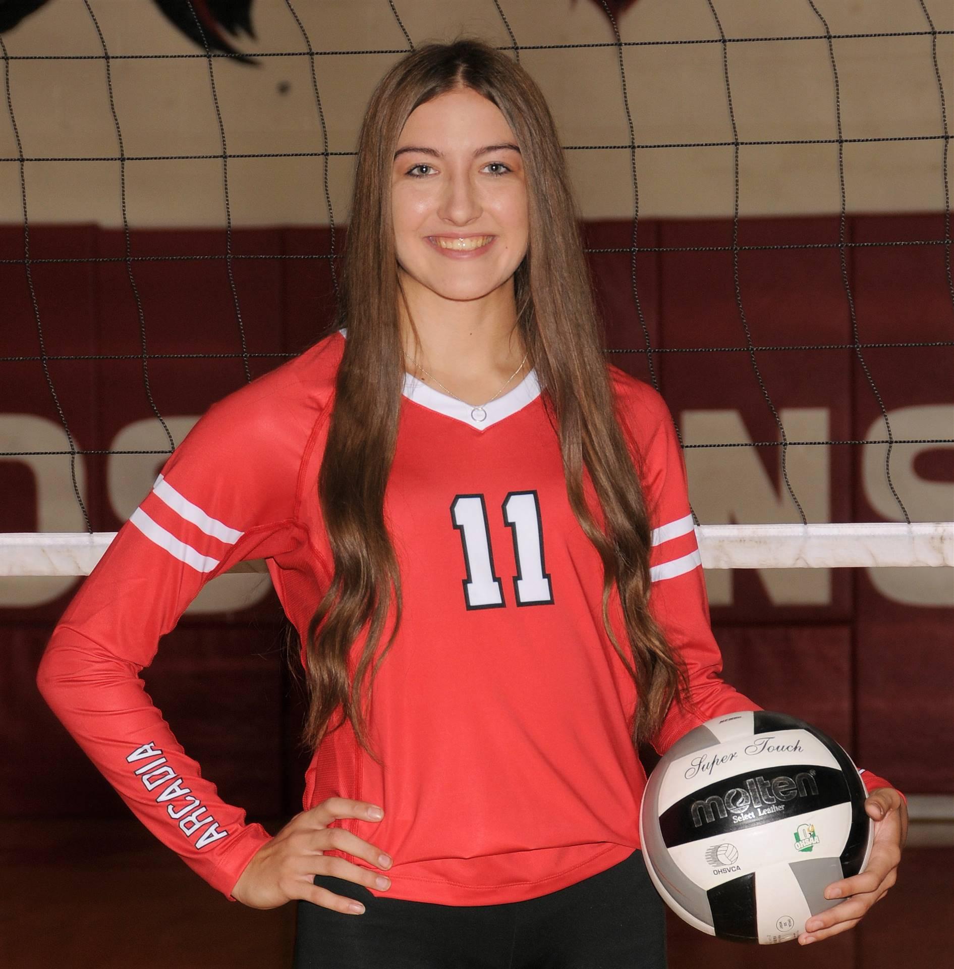Paige Massie - Volleyball