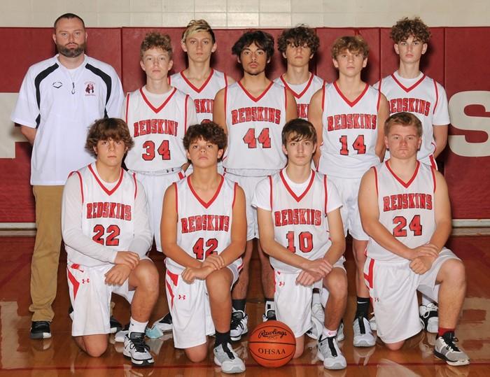 2020-21 Arcadia Redskins JV Basketball Team Photo