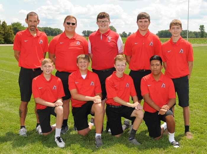 Arcadia Redskins 2020 Varsity Golf Team