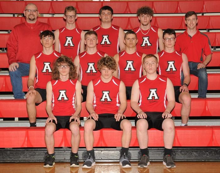 2020-21 Arcadia Redskins Varsity Boy's Track Team Photo