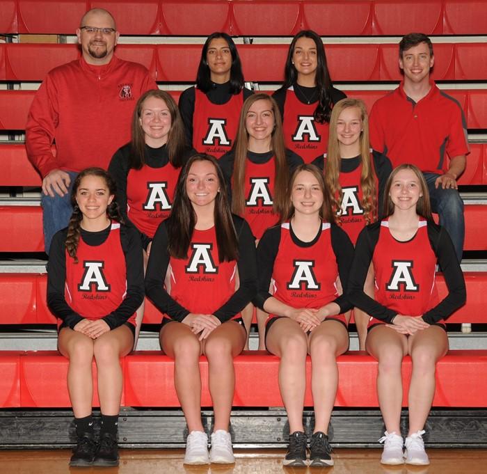 2020-21 Arcadia Redskins Varsity Girl's Track Team Photo