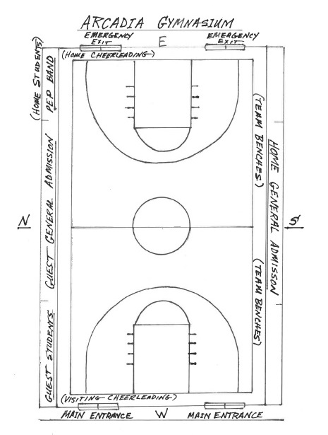 Arcadia Gymnasium Seating